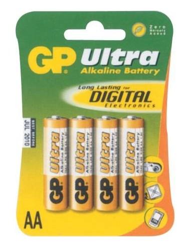 Baterija alkalna GP 1,5V AA LR06 4x,...