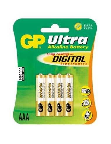 Baterija alkalna GP 1,5V AAA LR03 4x,...
