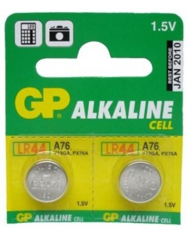 Baterija gumb alkalna GP GPA76 1,5V LR44