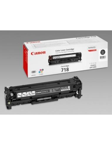 Canon toner CRG-718Bk črn za...