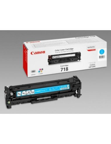Canon toner CRG-718C Cyan za...