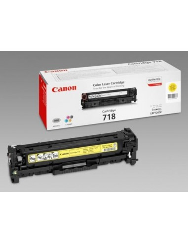 Canon toner CRG-718Y Yellow za...