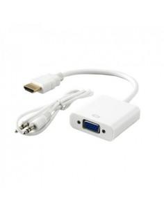 Adapter HDMI-M/VGA-Ž+audio...